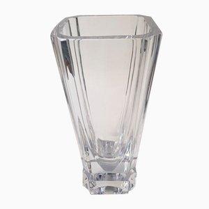 Französische Art Deco Kristall Vase von Daum