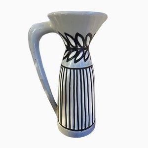 Frasco de cerámica vintage de Roger Capron, años 50