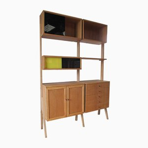 Mid-Century Bookshelf Unit