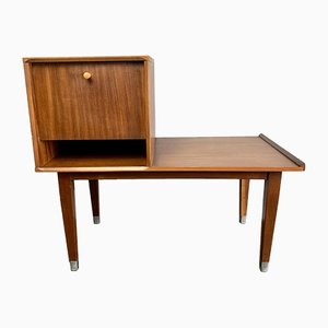 Mid-Century Teak Telephone Table from Chippy Heath