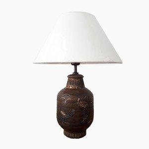 Vintage Tischlampe aus Keramik von Bitossi