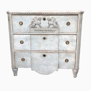 Antique Swedish Empire Chest of Drawers