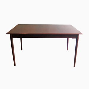 Mid-Century Rosewood Extendable Dining Table