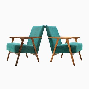 Mid-Century Lounge Chairs, 1960s, Set of 2