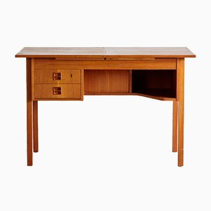 Danish Teak Desk or Dressing Table, 1960s