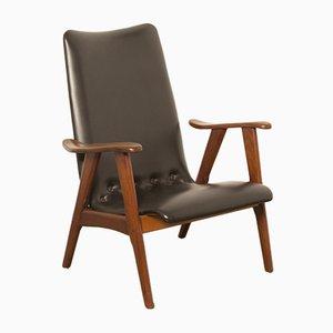 Mid-Century Stuhl von Louis van Teeffelen für Wébé, 1950er
