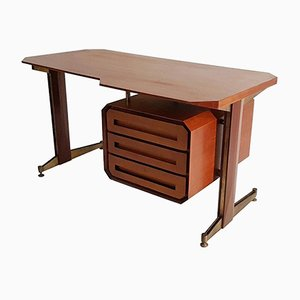 Mid-Century Italian Teak Writing Desk