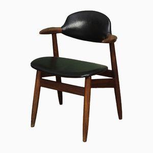Niederländischer Mid-Century Cowhorn Stuhl von Tijsseling für Hulmefa Nieuwe Pekela