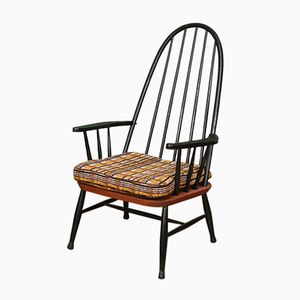 Mid-Century Dutch Spindleback Armchair from Pastoe, 1950s