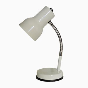 Vintage Adjustable Cream Desk Lamp, 1970s