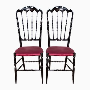 Chiavari Chairs from Giuseppe Gaetano Descalzi, 1950s, Set of 2