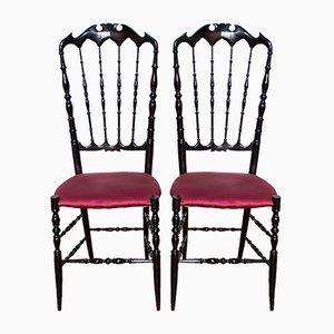 Chiavari Chairs von Giuseppe Gaetano Descalzi, 1950er, 2er Set
