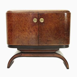 Mueble bar italiano Mid-Century, años 30