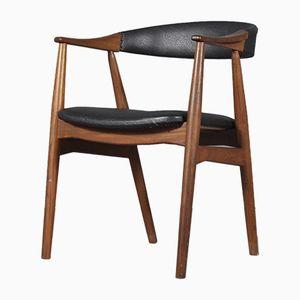 213 Armlehnstuhl aus Teak von Th. Harlev für Farstrup Møbler, 1960er