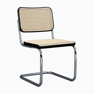 Freischwingender Vintage S32 Stuhl von Marcel Breuer für Thonet