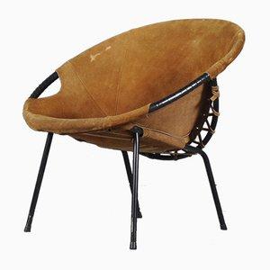 Silla Circle de Lusch Erzeugnis para Lusch & Co., años 60