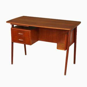 Dänischer Mid-Century Schreibtisch aus Teak, 1950er
