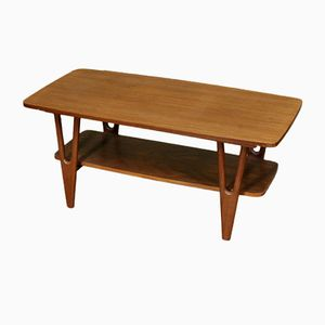 Vintage Dutch Teak Coffee Table, 1960s