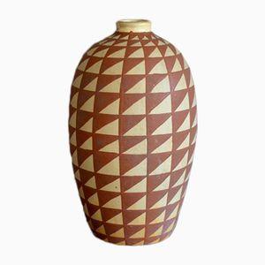 Vaso grande vintage di Jean Garillon per Elchinger