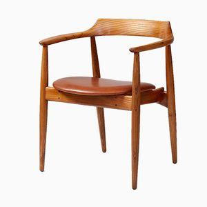 Runder Modell ST-750 Stuhl von Arne Wahl Iversen, 1960er