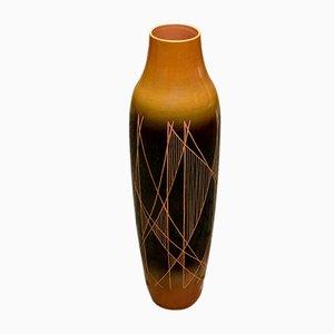 Vaso grande in ceramica, anni '50