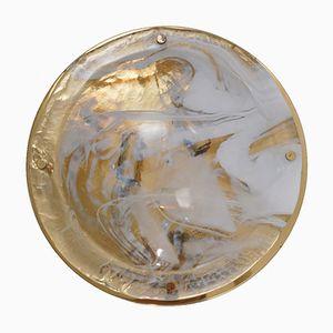 Applique in vetro di Murano di Hillebrand Lighting, anni '70