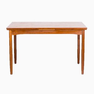 Danish Teak Extendable Dining Table by Schiønning & Elgaard for Randers Møbelfabrik, 1960s