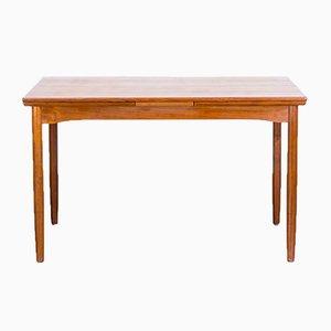 Table de Salle à Manger Extensible en Teck par Schiønning & Elgaard pour Randers Møbelfabrik, Danemark, 1960s