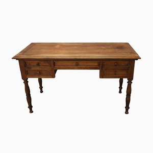 Antique Solid Walnut Desk, 1880s