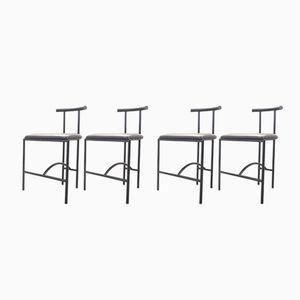 Tokyo Chairs by Rodney Kinsman for Bieffplast, 1980s, Set of 4