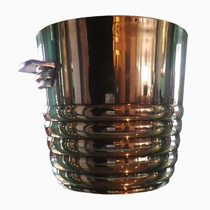 Art Deco Silver Plated Champagne Bucket, 1930s
