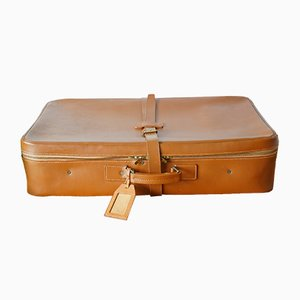 Cowhide Suitcase from Victor Luggage, 1950s
