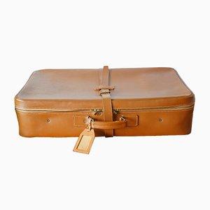 Valigia in pelle bovina di Victor Luggage, anni '50