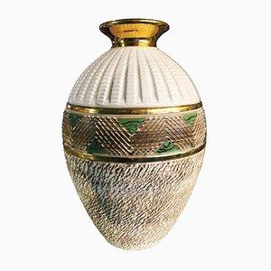 Französische Art Deco Vase von Lucien Brisdoux, 1935