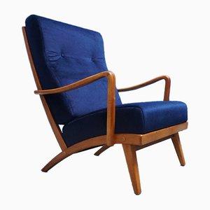 Sessel mit hoher Rückenlehne von Walter Knoll für Walter Knoll / Wilhelm Knoll, 1950er