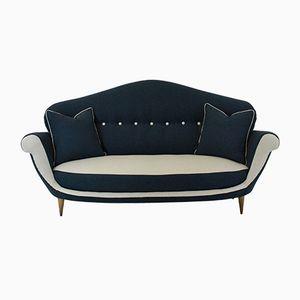 Großes italienisches Mid-Century Sofa, 1950er