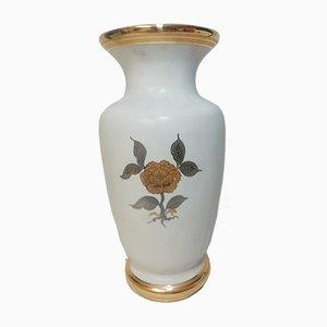 Vintage Bohemian Porcelain Vase