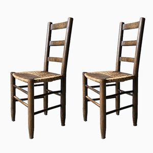 No. 19 Chairs by Charlotte Perriand, 1960s, Set of 2