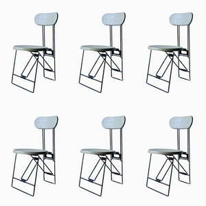Cricket Chairs by Andries Van Onck for Magis, 1983, Set of 6