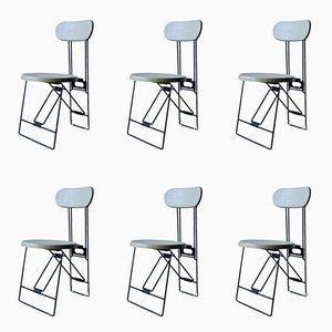 Cricket Stühle von Andries Van Onck für Magis, 1983, 6er Set