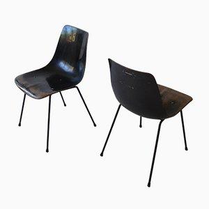 CM131 Stuhl von Pierre Paulin für Thonet, 1950er, 2er Set