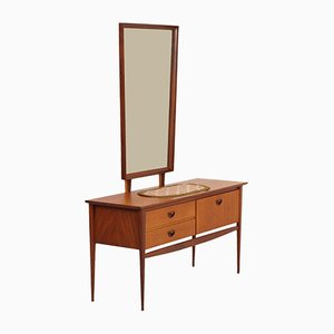 Teak Dressing Table by Louis van Teeffelen for Wébé, 1960s