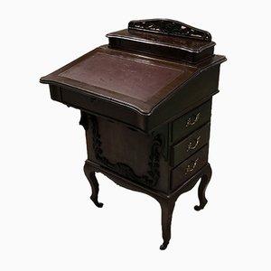 Davenport Schreibtisch aus Mahagoni, 1930er