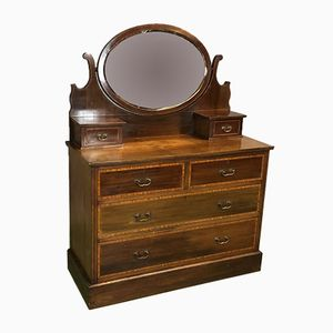 19th Century Mahogany Dressing Table