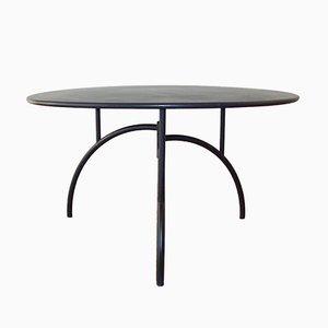 Tavolo rotondo in metallo verniciato di Philippe Starck per Driade, 1981
