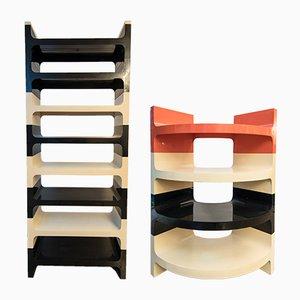 Italian Stacking Shelf Unit from Vardani Design, 1970s