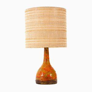 Lampada da tavolo in ceramica, anni '60