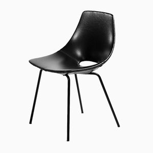 Tonneau Chairs by Pierre Guariche for Steiner, Set of 8