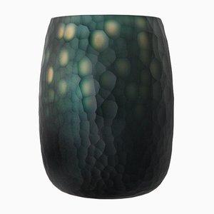 Jarrones italianos de cristal de Murano, años 60. Juego de 2