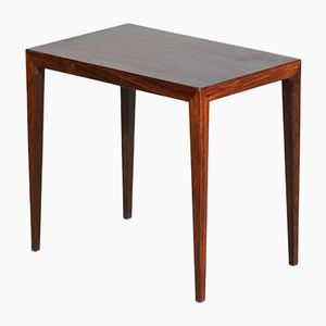 Mid-Century Rosewood Side Table by Severin Hansen